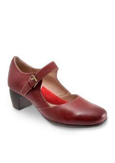 Softwalk Dark Red Irish Mary Jane