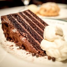A decadent old fashioned five layer chocolate cake with whipped cream at the Polo Bar #nyc @ralphlauren #nyfw . . . . . #eeeeeats | #food | #healthy | #foodporn | #foodgasm | #forkyeah | #nom | #recipe | #lunch |#yummy | #instafood | #delicious | #chocolate | #cake | #dessert | #newyorkcity