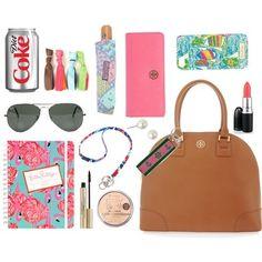 Preppy Summer Essentials. #Preppy #Fashion #Accessories  source: http://pink-pearls-boatshoes.tumblr.com/