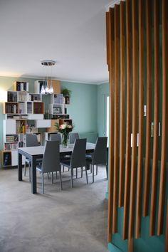 Bibliothèque cubit en blanc et bois pour une rénovation du séjour ...