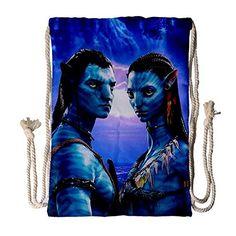 c1f1cf7fee Avatar Couple Drawstring Bag for Sports or Gym QC Drawstr... https