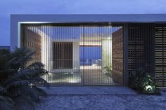 Courtyard  Casa Almare - Mexico by Elías Rizo Arquitectos