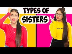 Types Of Sisters | SAMREEN ALI - YouTube Challenges Funny, Best Luxury Cars, Ali, Sisters, Type, Guys, Youtube, Women, Ant