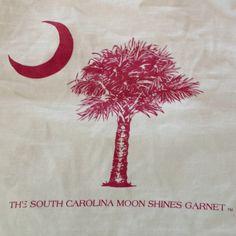 SC moon shines garnet!