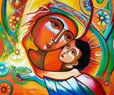 Image result for madonna and child modern