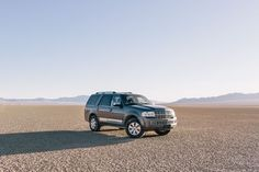 Sometimes setting off on your own is the right thing to do. The 2014 #Navigator takes on the Bonneville Salt Flats of Utah.