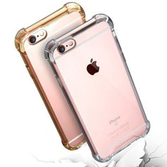 Shock Proof Flexible Phone Case For iphone 6 6S 7