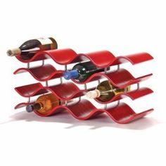 Fun wine rack!