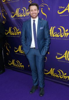 Michael Arden Photos - Actor Michael Arden attends the 'Aladdin' On Broadway Opening Night at New Amsterdam Theatre on March 20, 2014 in New York City. - 'Aladdin' Opening Night and Curtain Call