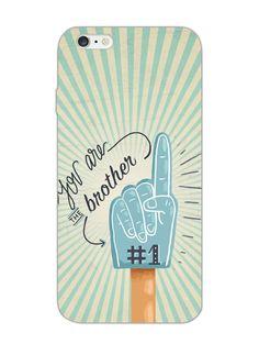 No 1 Brother - Rakshabandhan - Typography  - Designer Mobile Phone Case Cover…