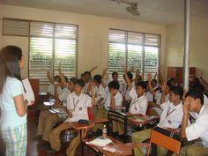 Una clase en San Juan