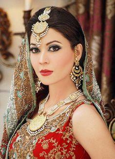 Indian Bridal red Makeup