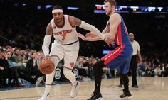 """What """"the writing on the wall"""" means for Carmelo Anthony = This can't be what Carmelo Anthony had in mind when he sought out to return to his hometown New York City with hopes of reviving a struggling New York Knicks franchise. As a top ten-to-15 player in the NBA for the majority of his tenure with the Knicks (and in the NBA), it feels unexplainable that….."""