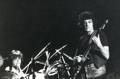 Mike and drummer Bob Jones