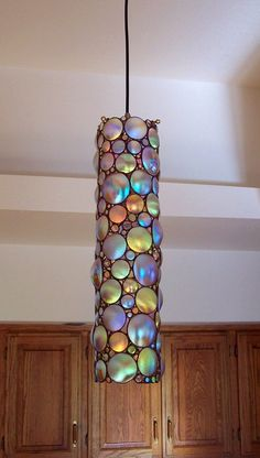Mediterranean Italian Spanish Tuscan Homes & Decor Ideas. Stained Glass Lamps, Stained Glass Patterns, Fused Glass, I Love Lamp, Tuscan House, Dream Furniture, Chandelier, Antique Lamps, Pretty Lights