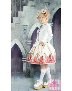 Dream of Lolita Melty Mermaid Skirt  #lolitadress  #skirt