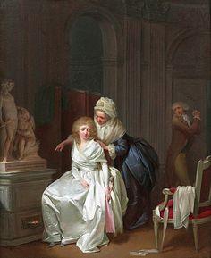 Louis Léopold Boilly - Les conseils maternels