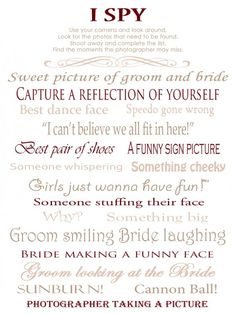 Free i spy wedding game template in french and english en free i spy wedding game template in french and english en anglais et franais printables pinterest spy wedding and weddings maxwellsz