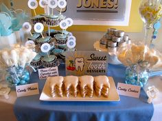 """this girl is a rock star! i will likely never have a need to put together a """"dentist"""" graduation party but i was blown away by her creativity and how she pulled all of this together. lots of great ideas. i even created a new board just to have somewhere to put it!"""