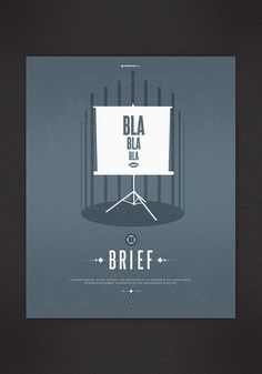 Brief - Creative Poster Design by Anthony Martinez