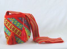 Wayuu Mochila bag - Small #Handmade #ShoulderBagMochila