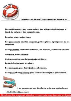 Vocabulaire – Corps – Santé – Maladies – À la française …