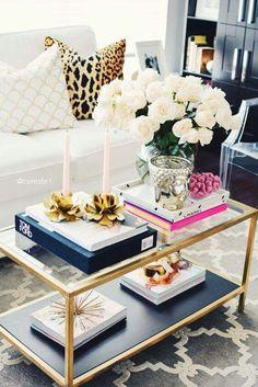 See the best IKEA Vittsjo Coffee Table Hacks and transform the IKEA Vittsjo Coffee table for under 5 bucks. Coffee Table Hacks, Ikea Coffee Table, Coffee Table Styling, Cool Coffee Tables, Decorating Coffee Tables, Ikea Table, Books On Coffee Table, Living Room Coffee Tables, Gold Glass Coffee Table