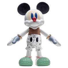 Mickey Mouse Ceramic sculpture for Disney + Bosa 2018 Japanese Paper Lanterns, Deco Pastel, Mickey Mouse, American Giant, Mobile Art, Toy Art, Exhibition, Iconic Characters, Red Poppies