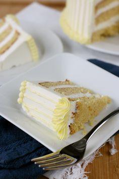 Lemon and Almond Cake by bittykate.deviantart.com on @deviantART