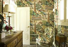 Joe Nye Interior Design via Chinoiserie Chic