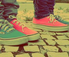 vans shoes with best friend.shan,do you want the Blue or pink. Cute Vans, Cute Shoes, Me Too Shoes, Hipster Shoes, Hipster Outfits, Sock Shoes, Vans Shoes, Nike Sneakers, High Top Sneakers