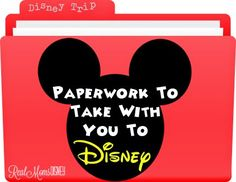 Real Mom's Disney: Know Before You Go – Paperwork to Bring With You! Real Mom's Disney: Know Before You Go – Paperwork to Bring With You! Disney World Tips And Tricks, Disney Tips, Disney Fun, Disney Travel, Disney Cruise, Disney 2017, Disney Ideas, Disney Surprise, Disney Family