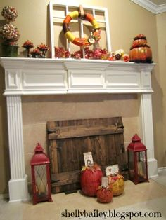 Insulated Fireplace Cover w/Pallet Wood | Simple Crafts/DIY ...