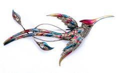 "Marcel Boucher ""Bird In Flight"" Pin"