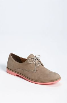 If I wasn't so afraid my feet would look like boats, I would DEFINITELY rock these.   BP. 'Tabor' Oxford | Nordstrom