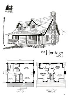 Read what you need to know if you are thinking of building your own tiny house. Log Cabin Floor Plans, Pole Barn House Plans, Cabin House Plans, Log Cabin Homes, Dream House Plans, Small House Plans, House Floor Plans, Small Log Cabin Plans, Barn Homes Floor Plans