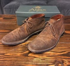 Brown leather chukka boots - chukka boots - shoes / boots - men ...