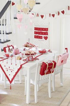 Throw a Valentine's Day party filled with hearts and lots of love with our tabletop decorations and irresistible heart mobiles.