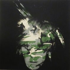 Andy Warhol Camoufage Self-Portrait