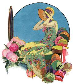 Collier's 1929  Art by Jon Holmgren