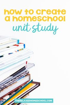 Unit Studies are an effective way to teach on subjects that your children love! Find out how easy it can be to create your very own unit studies! // The Relaxed Homeschool -- Homeschool High School, Homeschool Curriculum, Homeschooling Resources, Educational Youtube Channels, Elementary Physical Education, Baby Education, Teaching Us History, Social Studies Projects, Kindergarten Units