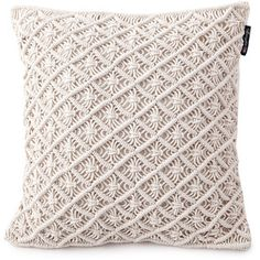 Lexington Seaside Macrame Cushion Cover - 50x50cm