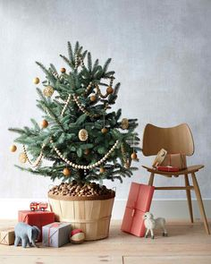 DIY Christmas Tree: How to Make the Ornaments, the Garlands, and Even the Tree | Martha Stewart