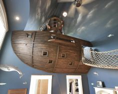 A House Of Whimsy: Pirate Ships, Climbing Walls, & Slides
