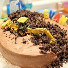 Birthday cake for the little boy :)