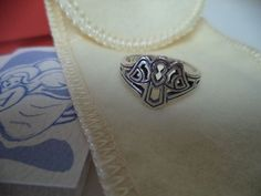 """James Avery """"Angel"""" Ring .925 Sterling Silver Size 7.5 RETIRED #JamesAvery"""