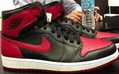 Air Jordan 1 Hi Black/Red Release Date http://nicek.is/Ip6bZV