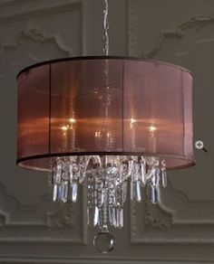 Could have an EXTRA sparkly chandelier, if you muted it with the right shade...