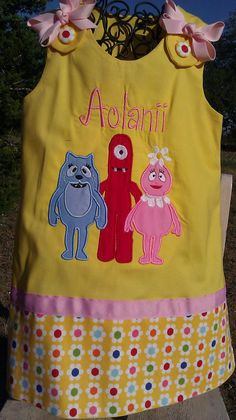 Yo Gabba Gabba Dress