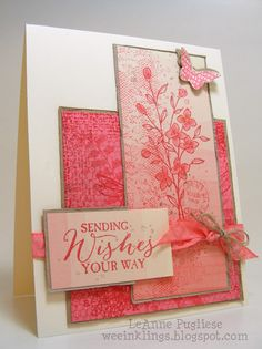 wee inklings - SU - Butterfly Basics, Stampin Up, Timeless Textures, Touches of Texture, Try Stampin on Tuesday